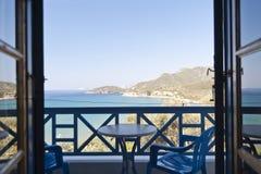 Coast of Samos Stock Photography