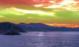 Coast of San Sebastián Royalty Free Stock Photo
