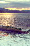 Coast of San Sebastián Royalty Free Stock Photography