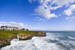 Coast of Santa Cruz Stock Photos