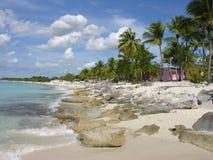 Coast of Santo Domingo Royalty Free Stock Photography