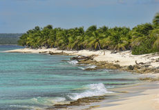 Coast of Santo Domingo, Dominican Republic Royalty Free Stock Photos