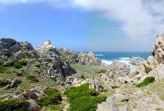 Coast in Sardinia Stock Image