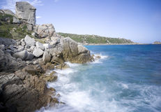 Coast of Sardinia Royalty Free Stock Image