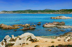Coast of Sardinia - Sardegna Royalty Free Stock Images