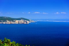 Coast of Sardinia - Sardegna Royalty Free Stock Photography