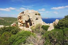 Coast of Sardinia Royalty Free Stock Photography