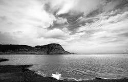 Coast and sea Stock Photo