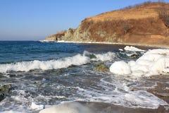 Coast of sea Stock Image