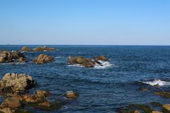Coast, Sea, Coastal And Oceanic Landforms, Shore stock photos