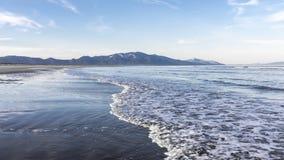 The coast of the Sea of Okhotsk Royalty Free Stock Image
