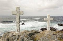 Coast and sea Royalty Free Stock Image