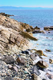 The coast at sea of Varazze Stock Photo