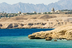 Coast of sharm el sheikh Royalty Free Stock Photo