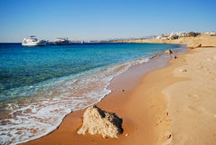The coast of sharm el sheikh Stock Photography