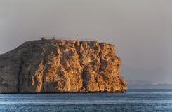 The coast of sharm el sheikh. Ras Mohammed, in Egypt Royalty Free Stock Photo