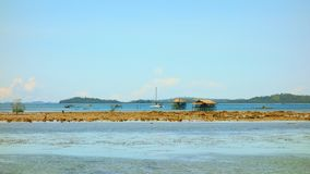 The coast of Siargao Island Royalty Free Stock Image