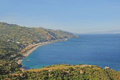 Coast of Sicily. Royalty Free Stock Images