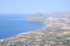 Coast of Sicily. Royalty Free Stock Photos