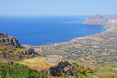 Coast of Sicily. Royalty Free Stock Photography
