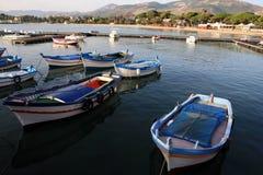 Coast of Sicily stock photo