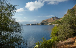 Coast of Sicily royalty free stock image