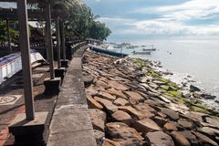 The coast of singaraja. In the north of bali Stock Photo
