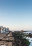 The coast at Skala de le Ville fort Stock Photos