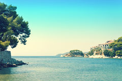 Coast of Skiathos town. Skiathos island, Sporades archipelago. G. Reece Stock Photos