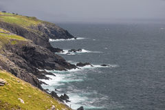 Coast at Slea Head Drive Royalty Free Stock Images