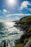 Coast of Slea Head in Ireland Stock Photo