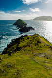 Coast Of Slea Head in Kerry In Ireland Royalty Free Stock Image