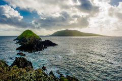 Coast Of Slea Head in Kerry In Ireland Royalty Free Stock Photos