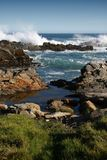 Coast in South Africa Royalty Free Stock Photo