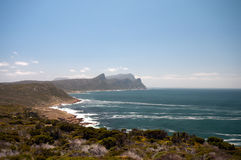 Coast in South Africa. Coast near Cape Town - South Africa Stock Image