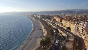 The coast of the south of France cote d'azur. The coast of the south of France Stock Images