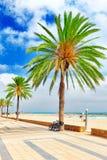 Coast in Spain. Stock Photos