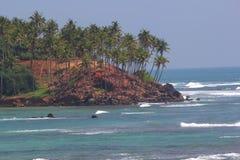 Coast in Sri lanka Stock Image