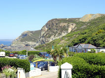Coast, St. Agnes, Cornwall. Stock Photos