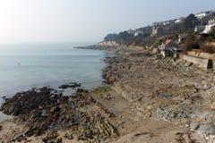 Coast at St Mawes Cornwall UK Stock Photography