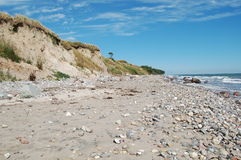 Coast of Staberhuk. This images shows the coast of Staberhuk on Fehmarn Royalty Free Stock Images