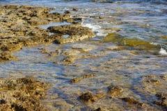 Coast with stones Stock Image