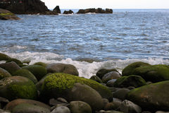 Coast stones Royalty Free Stock Image