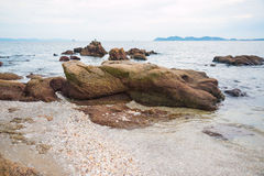 Coast stones Stock Images