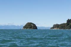 Coast with stunning beaches, New Zealand Royalty Free Stock Photo