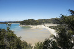 Coast with stunning beaches, New Zealand Stock Images