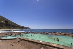 Coast Swimming in Wollongong Royalty Free Stock Photo