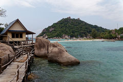 Coast of Tao island, Thailand Royalty Free Stock Image