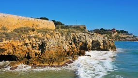 Coast of Tarragona, Spain Stock Photos