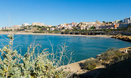 Coast of Tarragona in spring Royalty Free Stock Photos